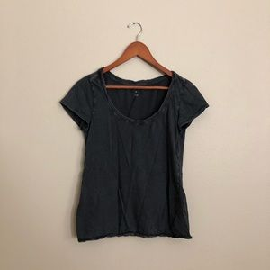 BDG Gray Short Sleeve Shirt